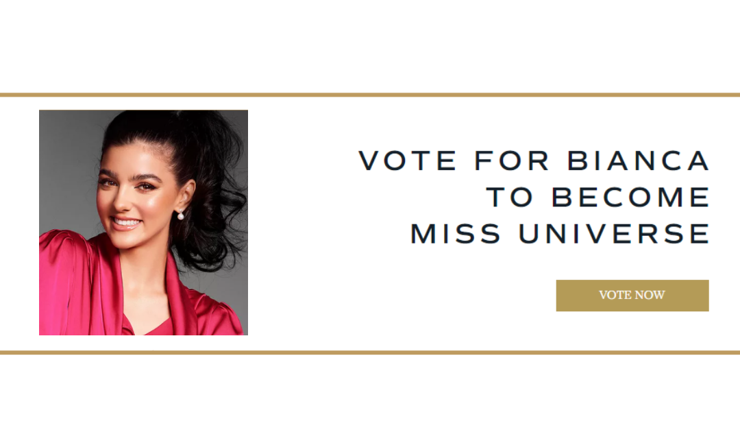 Voting Started: Vote for Miss Bianca to Become Miss Universe